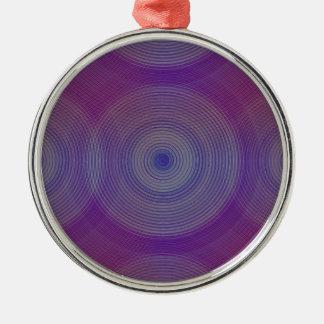 Retro diseño Violet y púrpura Psicodélica sesenta