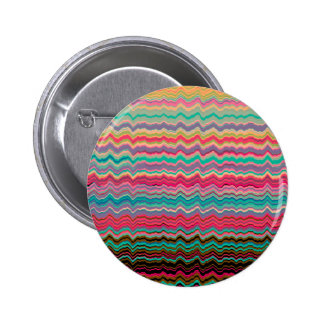 Retro distorted lines pattern button