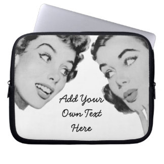Retro Do Tell Computer Sleeve
