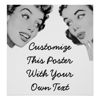 Retro Do Tell Poster