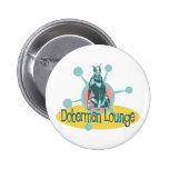 Retro Doberman Lounge Pins