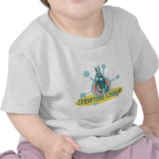 Retro Doberman Lounge Tee Shirt