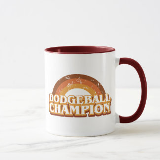 Retro Dodgeball Champion Mug