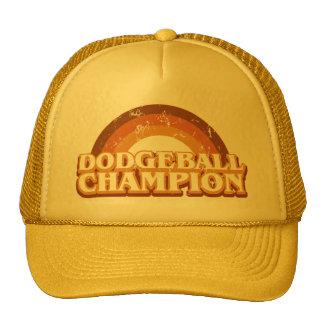Retro Dodgeball Champion Trucker Hat