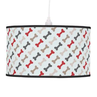Retro Dog Bone Pattern Ceiling Lamp