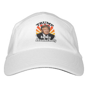 Retro Donald Trump is my Homeboy for President Headsweats Hat d7996eb14560