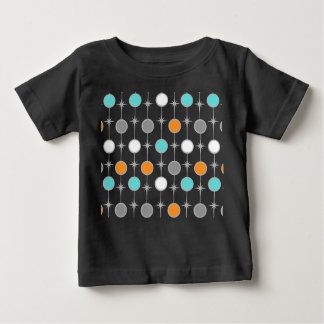 Retro Dots and Starbursts Baby T-Shirt