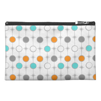 Retro Dots and Starbursts Cosmetic Bag