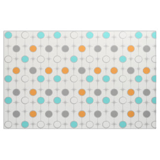 Retro Dots and Starbursts Fabric