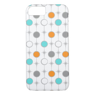 Retro Dots and Starbursts iPhone 7 Case
