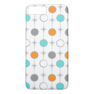 Retro Dots and Starbursts iPhone 7 Plus Case
