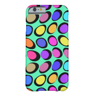 Retro Dots Digital Art Phone Case