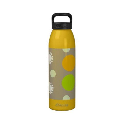 Retro Dots Liberty Bottle Reusable Water Bottle