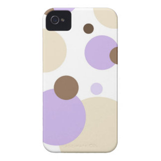 Retro Dots Purple-Brown BlackBerry Bold Case