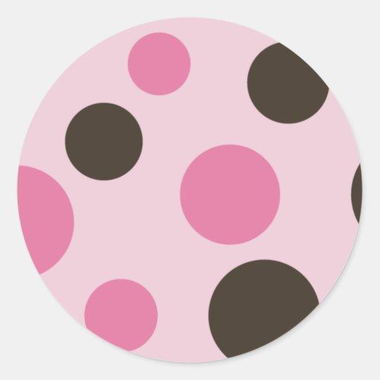 Retro Dots Stickers