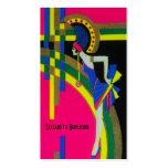 Retro Dream ~ Business Card Art Deco Modern