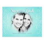 Retro Dream Save the Date Photo postcard