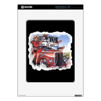 Retro Drive Inn iPad Skins