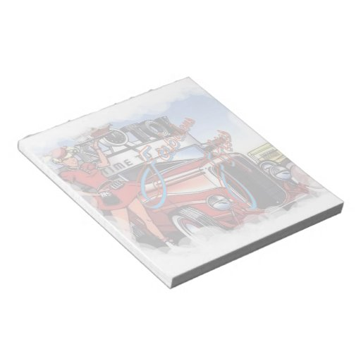 Retro Drive Inn Notepad (2) sizes