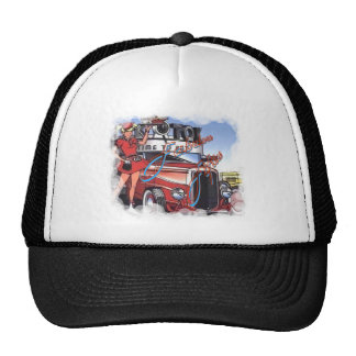 Retro Drive Inn Trucker Hat