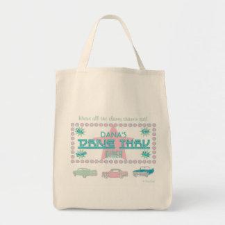 Retro Drive-Thru Diner (pink) Tote Bag
