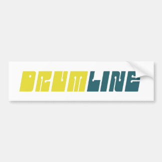 Retro Drumline Bumper Stickers