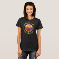 Retro Earth Day 2020 50th Anniversary Vintage 70s T-Shirt