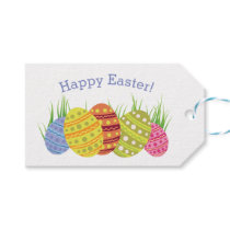 Retro Easter Egg Hunt Decorating Gift Tags