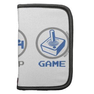 Retro Eat Sleep Game Organizer