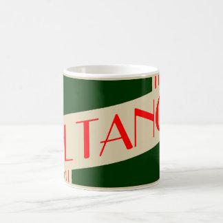 retro el tano classic white coffee mug