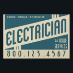 "retro electrician sign<br><div class=""desc""></div>"