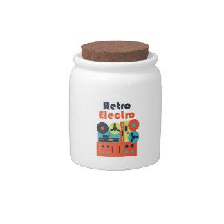 Retro Electro Candy Dish