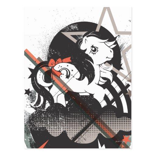 Retro Elements Design Post Cards