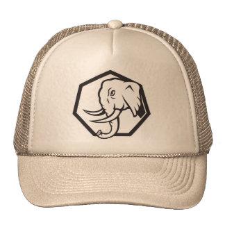 Retro Elephant Trucker Hats
