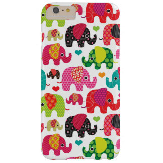 retro elephant kids pattern wallpaper barely there iPhone 6 plus case