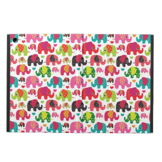 retro elephant kids pattern wallpaper cover for iPad air