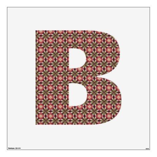 Retro embroidery B Room Sticker