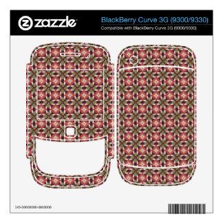 Retro embroidery BlackBerry skins