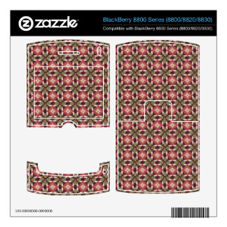 Retro embroidery skins for BlackBerry 8800
