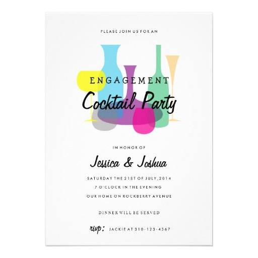 Cocktail Party Invitation is an amazing ideas you had to choose for invitation design