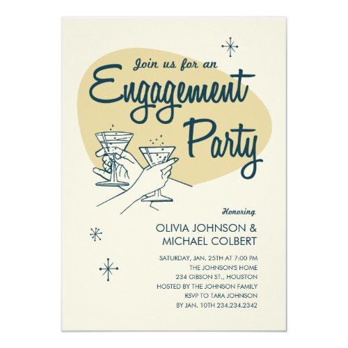 Popular 25 Funny Engagement Party Invitations – Vintage Engagement Party Invitations