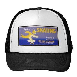 Retro Enjoy Skating Trucker Hat