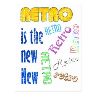Retro es el nuevo nuevo postales