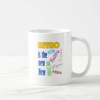 Retro es el nuevo nuevo tazas de café