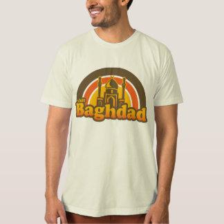 Retro estupendo de Bagdad Playera