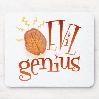 Retro Evil Genius Mouse Pad
