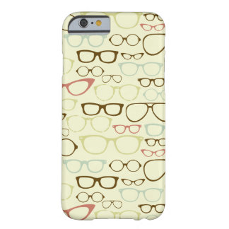 Retro Eyeglass Hipster Barely There iPhone 6 Case