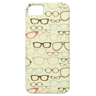 Retro Eyeglass Hipster iPhone 5 Cases