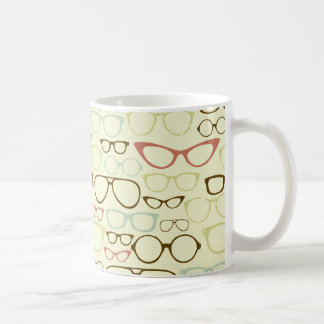 Retro Eyeglass Hipster Coffee Mug
