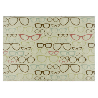 Retro Eyeglass Hipster Cutting Boards